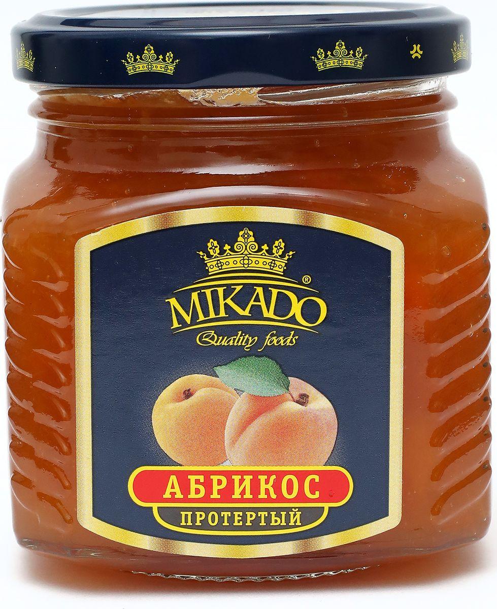 Ягоды перетертые Mikado Абрикос с сахаром, 320 г черника экопродукт с сахаром 320 г