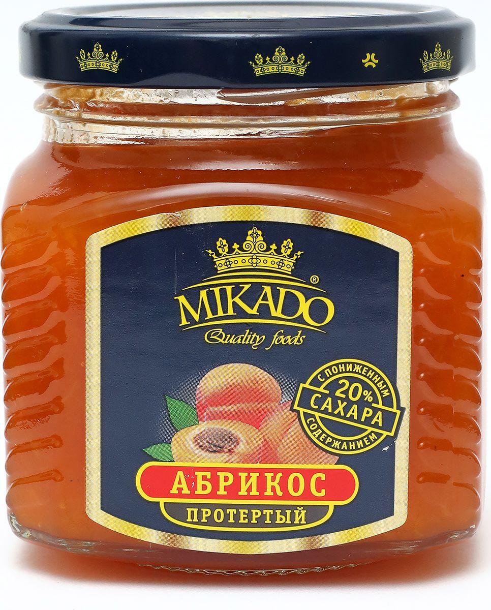 Ягоды перетертые Mikado Абрикос с содержанием сахара 20%, 270 г mikado mikazuki medium spin 270 5 25 г