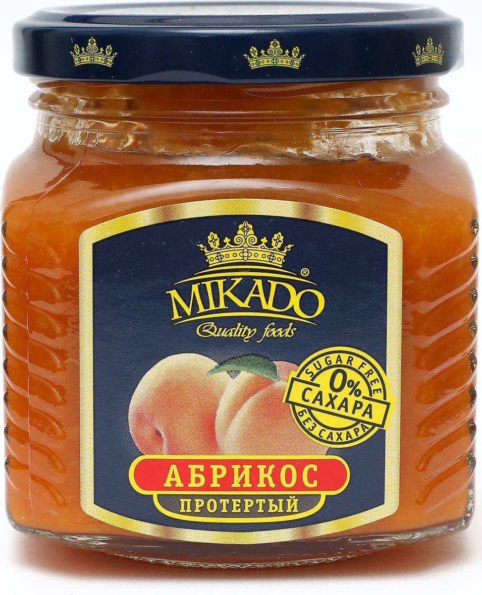 Ягоды перетертые Mikado Абрикос без сахара, 250 г