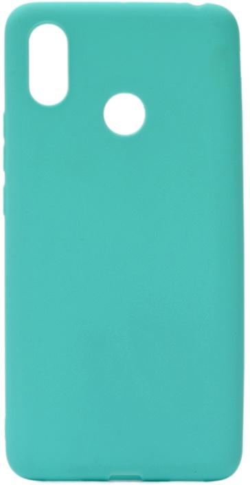 Чехол для сотового телефона GOSSO CASES для Xiaomi Mi Max 3 Soft Touch, 196085, бирюзовый