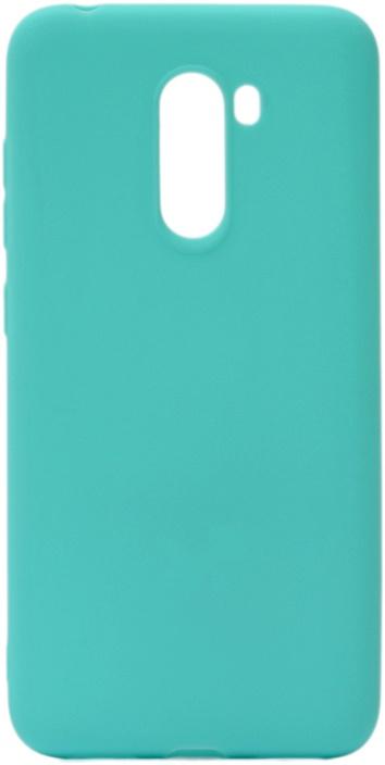 Чехол для сотового телефона GOSSO CASES для Xiaomi Pocophone F1 Soft Touch, 196088, бирюзовый
