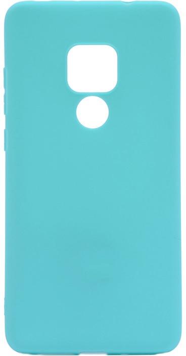 Чехол для сотового телефона GOSSO CASES для Huawei Mate 20 Soft Touch, 198688, бирюзовый