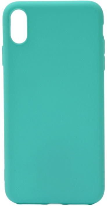 Чехол для сотового телефона GOSSO CASES для Apple iPhone XS Max Soft Touch, 191697, бирюзовый