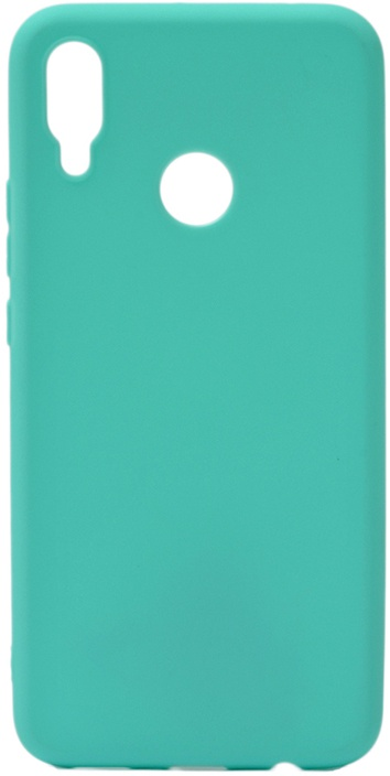 Чехол для сотового телефона GOSSO CASES для Huawei Nova 3i Soft Touch, 191702, бирюзовый