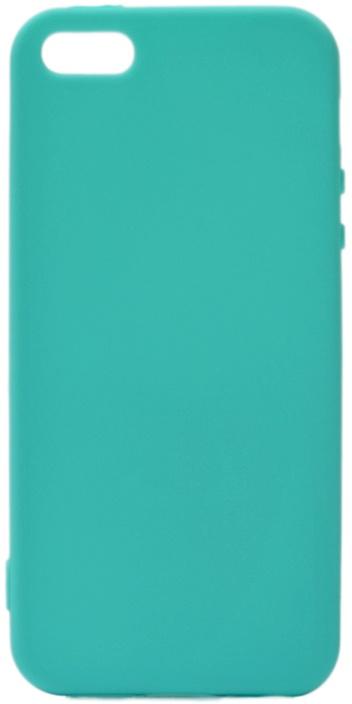 Чехол для сотового телефона GOSSO CASES для Apple iPhone SE / 5S / 5 Soft Touch, 196058, бирюзовый