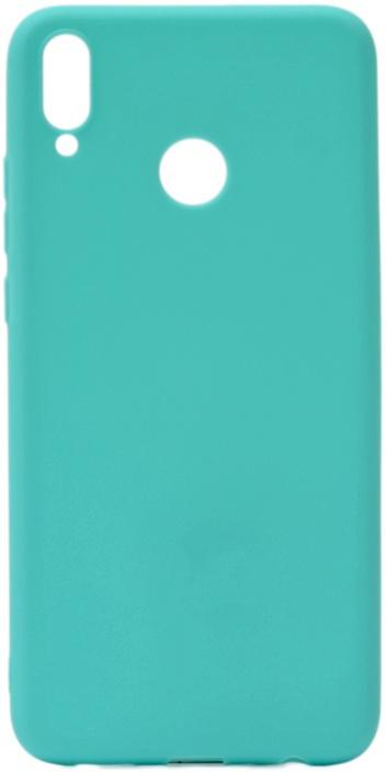 Чехол для сотового телефона GOSSO CASES для Huawei Honor 8X Soft Touch, 196071, бирюзовый