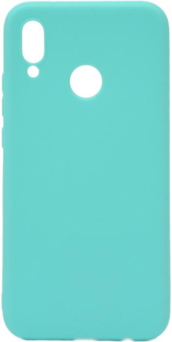 Чехол для сотового телефона GOSSO CASES для Huawei P20 Lite Soft Touch, 186903, голубой аксессуар чехол для huawei p20 lite pero soft touch turquoise prstc p20lc