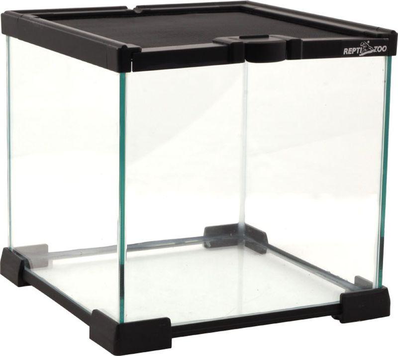 Террариум Repti-Zoo 02AKb 20 х 20 х 20 см, 83625016, черный