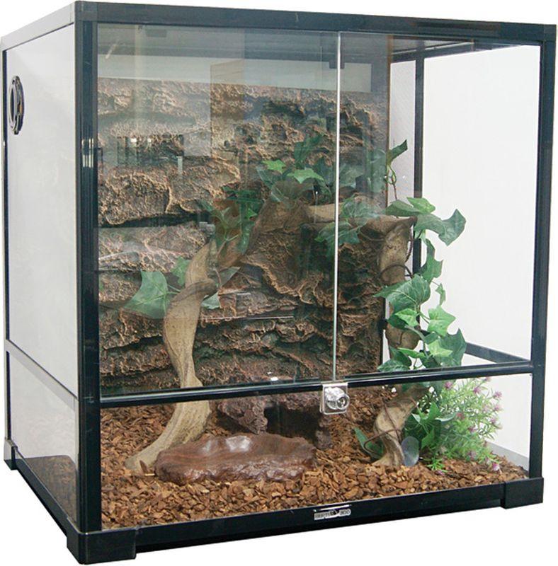 Террариум Repti-Zoo 0101RK 30 х 30 х 30 см, 83635001, черный