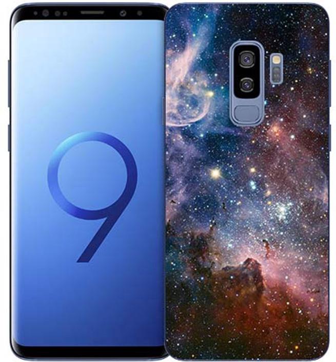 Чехол для сотового телефона GOSSO CASES для Samsung Galaxy S9 Plus с принтом, 180109, черный