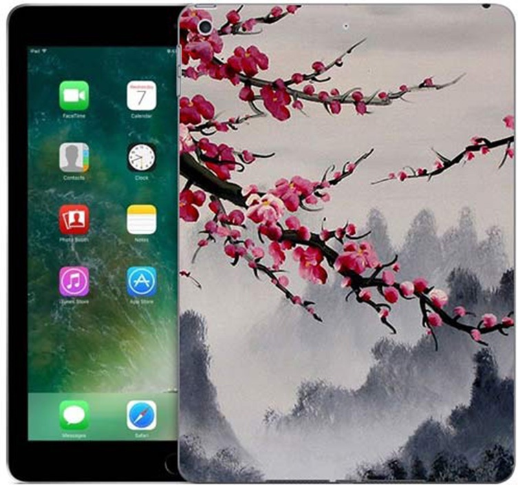 Чехол для сотового телефона GOSSO CASES для Apple iPad 9.7 (2017) с принтом, 187781, серый