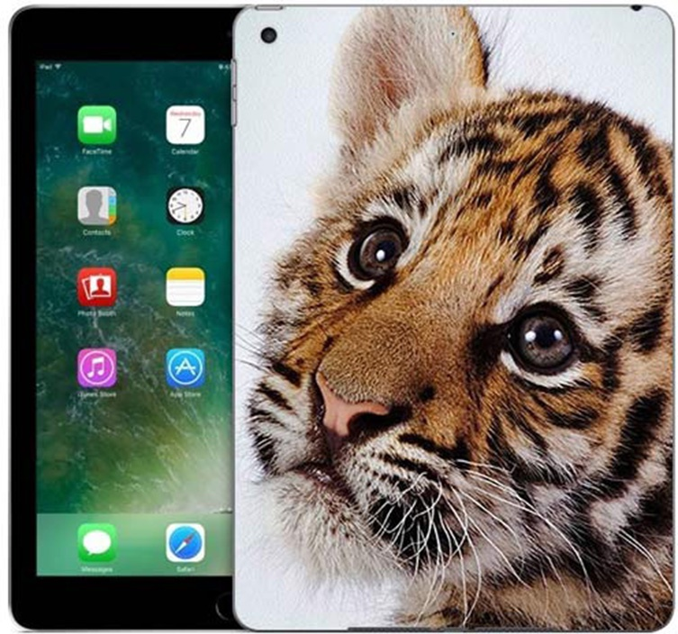 Чехол для сотового телефона GOSSO CASES для Apple iPad 9.7 (2017) с принтом, 187782, оранжевый