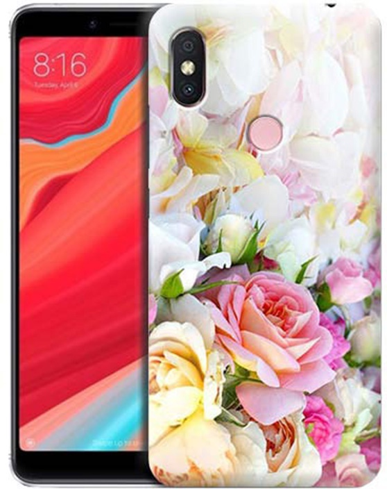 Чехол для сотового телефона GOSSO CASES для Xiaomi Redmi S2 с принтом, 191805, белый