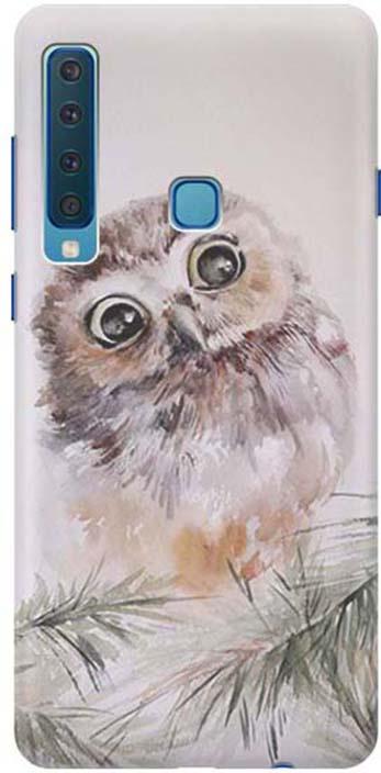 Чехол для сотового телефона GOSSO CASES для Samsung Galaxy A9 (2018) с принтом, 197818, серый