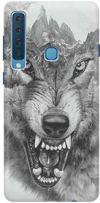 Чехол для сотового телефона GOSSO CASES для Samsung Galaxy A9 (2018) с принтом, 197822, серый