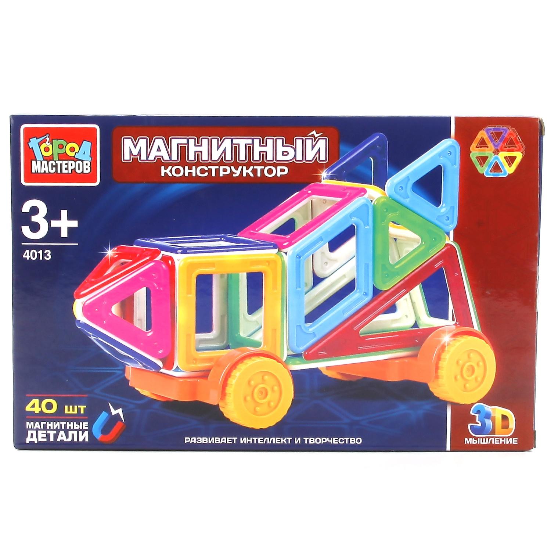 Магнитный конструктор Город мастеров 238947, 238947