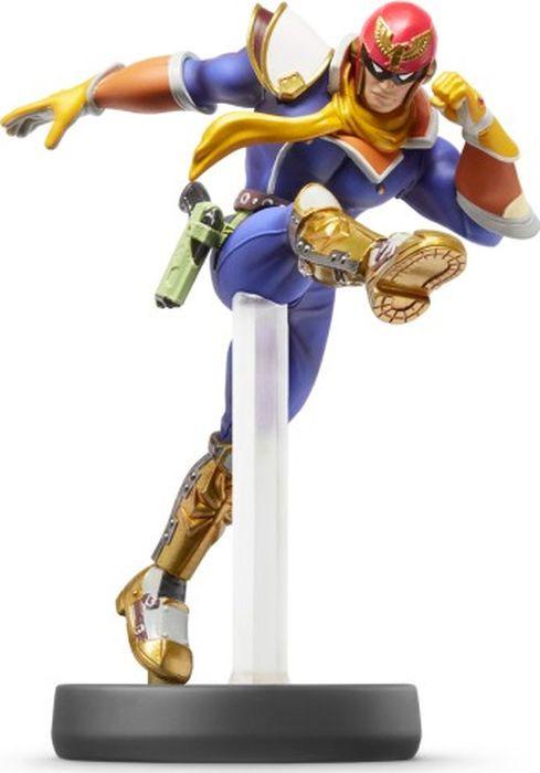 Фигурка Amiibo Super Smash Bros. Капитан Фэлкон nintendo 3ds super smash bros