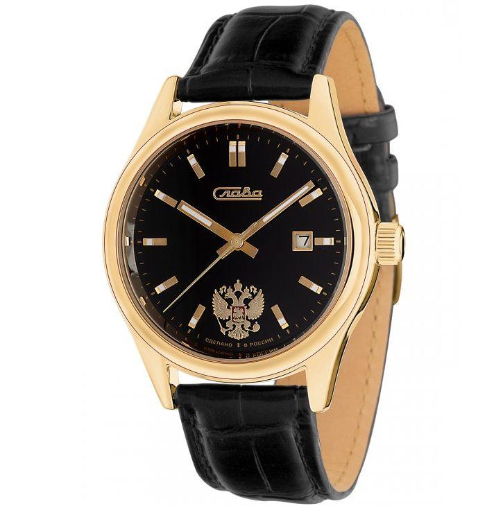 Часы Слава Премьер, 1369613/300-2414, черный все цены