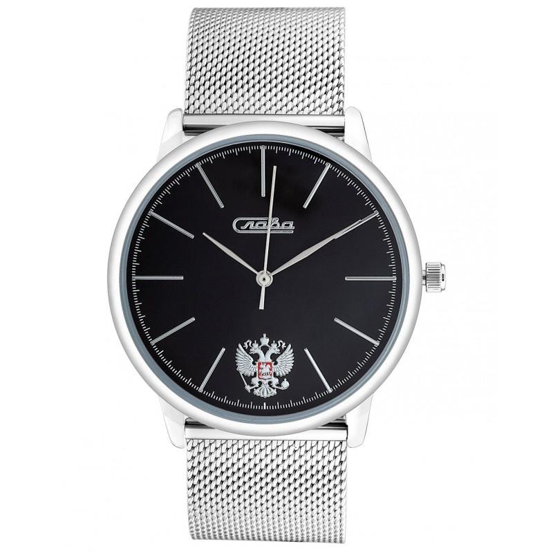 Часы Слава Традиция, 1721981/2035-100, черный все цены
