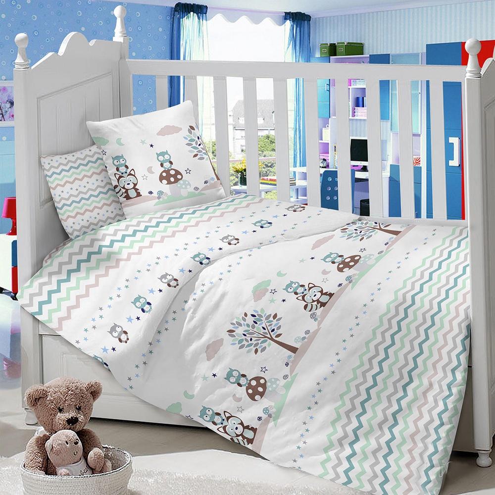 Комплект в кроватку LIMETIME Комплект в кроватку, простыня классическая, LT1100-81, белый