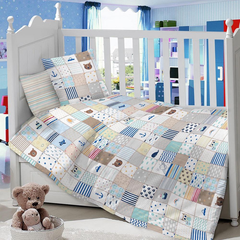 Комплект в кроватку LIMETIME Комплект в кроватку, простыня классическая, LT1100-84, серый