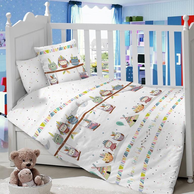 Комплект в кроватку LIMETIME Комплект в кроватку, простыня классическая, LT1100-75, белый