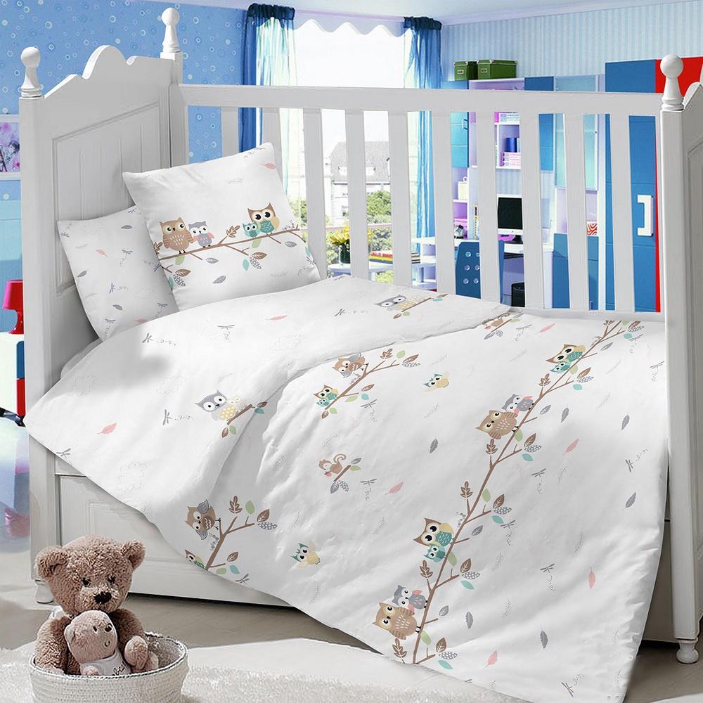 Комплект в кроватку LIMETIME Комплект в кроватку, простыня классическая, LT1100-82, белый