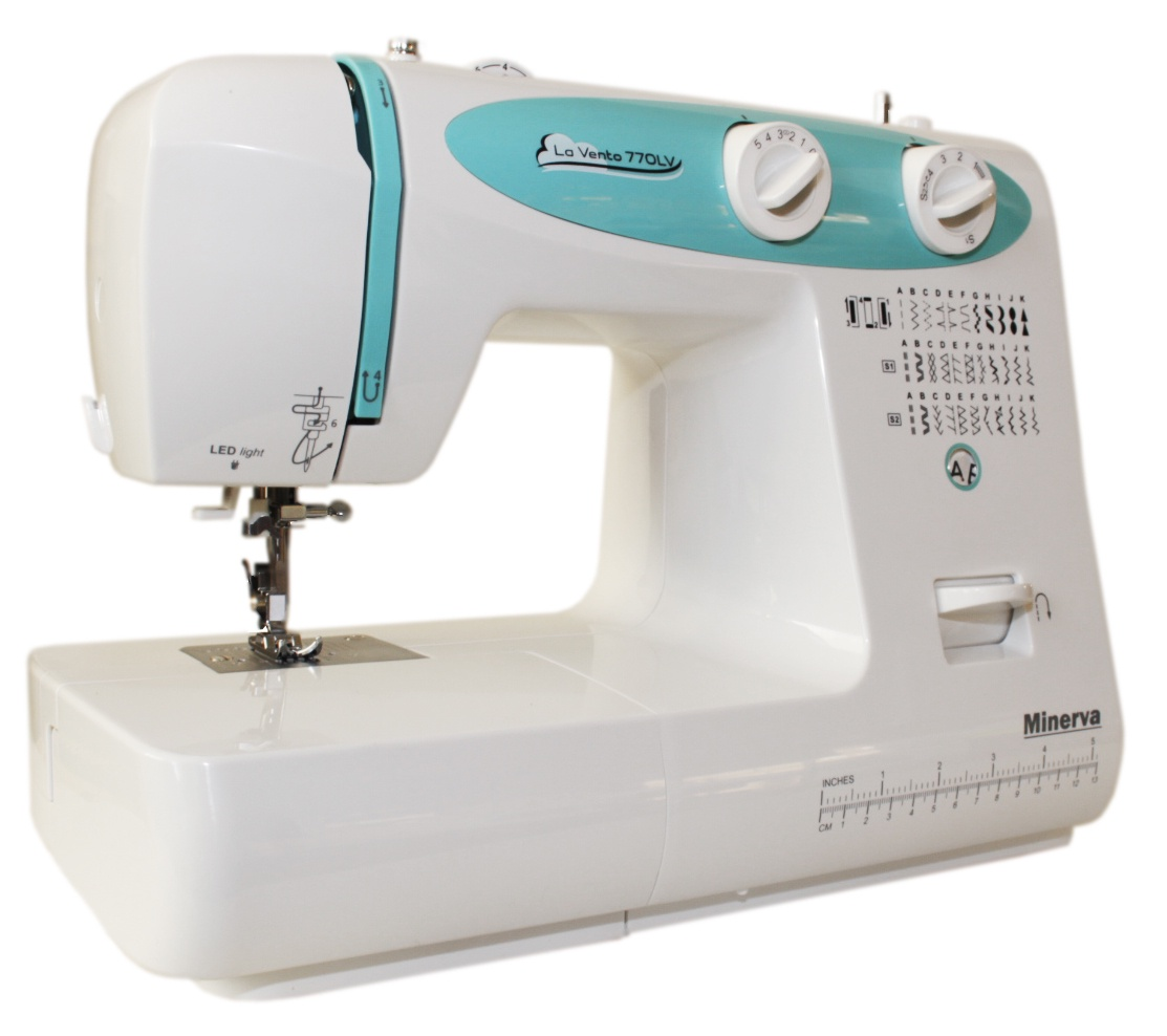 La Vento 770LV швейная машина minerva la vento 710lv белый розовый