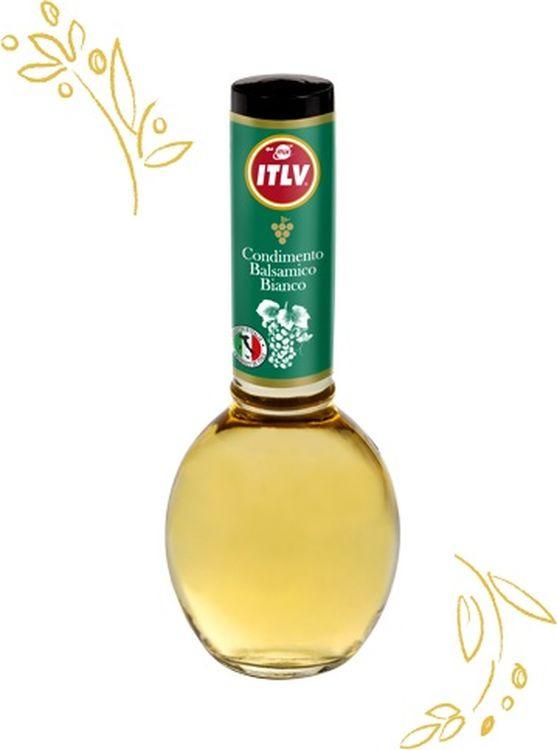 ITLV уксус винный бальзамический из белого вина, 250 мл833706Бальзамический уксус из белого вина созревает в бочонках в течение нескольких лет. Таким образом, он приобретает изысканный вкус, который разнообразит ваши соусы, прекрасно подойдет для консервирования и маринадов.