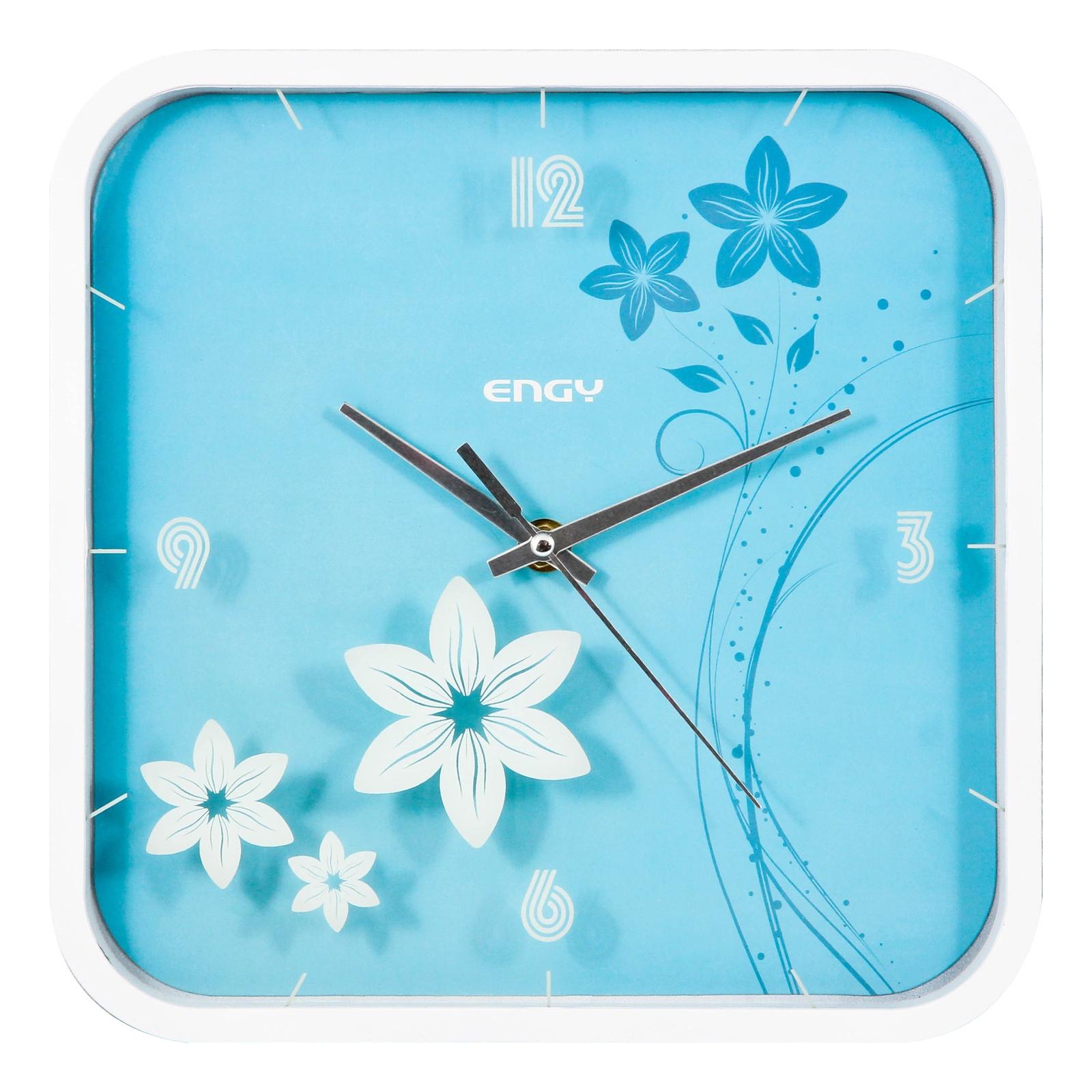 Настенные часы ENGY ЕС-22 квадратные, 54 009322 часы настенные engy d300мм