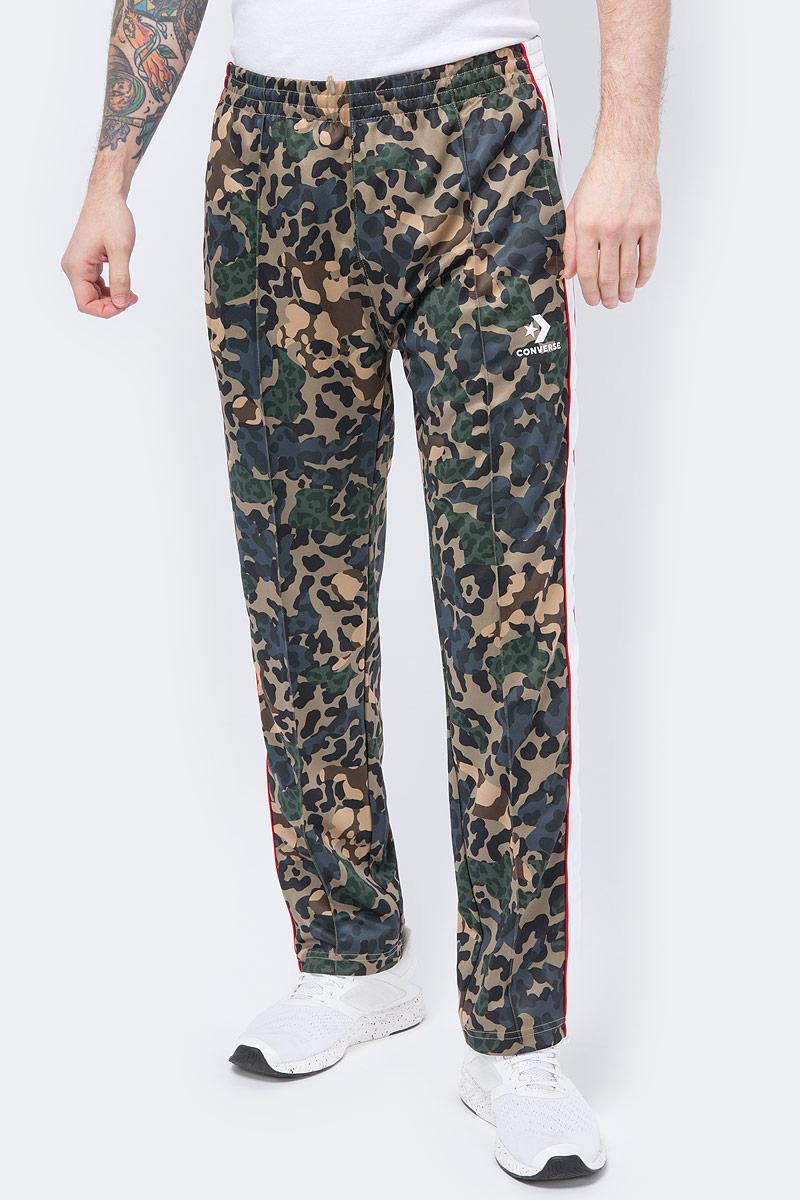 Брюки спортивные Converse Camo Track Pant брюки женские converse sweater knit pant цвет черный 10007186001 размер s 44