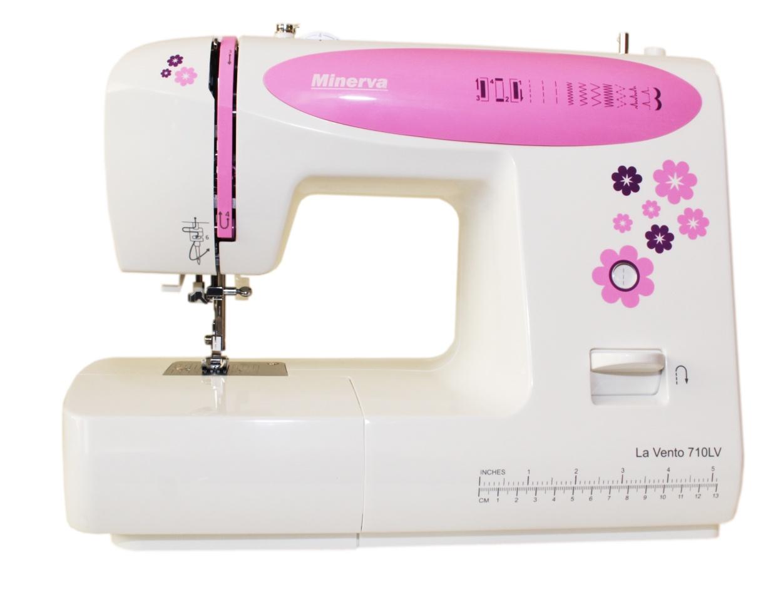 La Vento 710LV швейная машина minerva la vento 710lv белый розовый