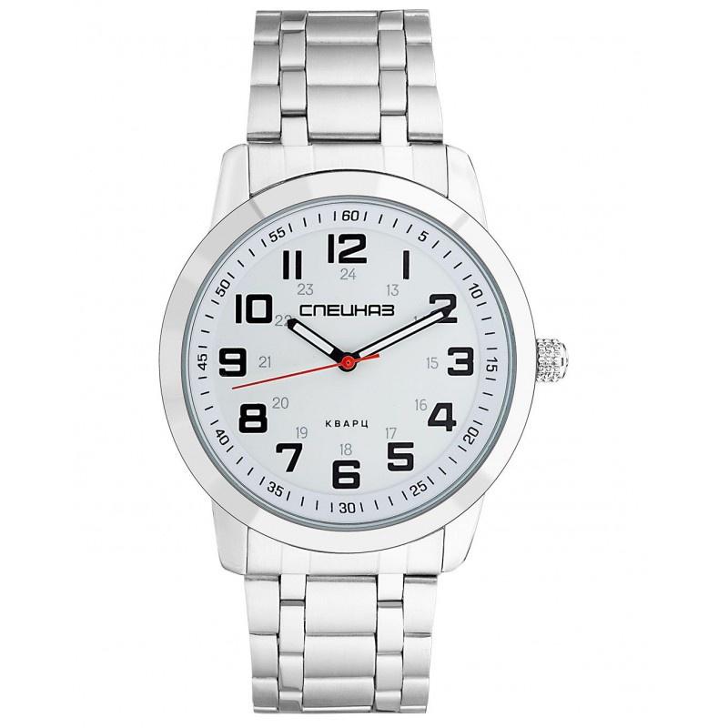 Часы Спецназ Атака, С2971412-2115-100, белый, серебристый все цены