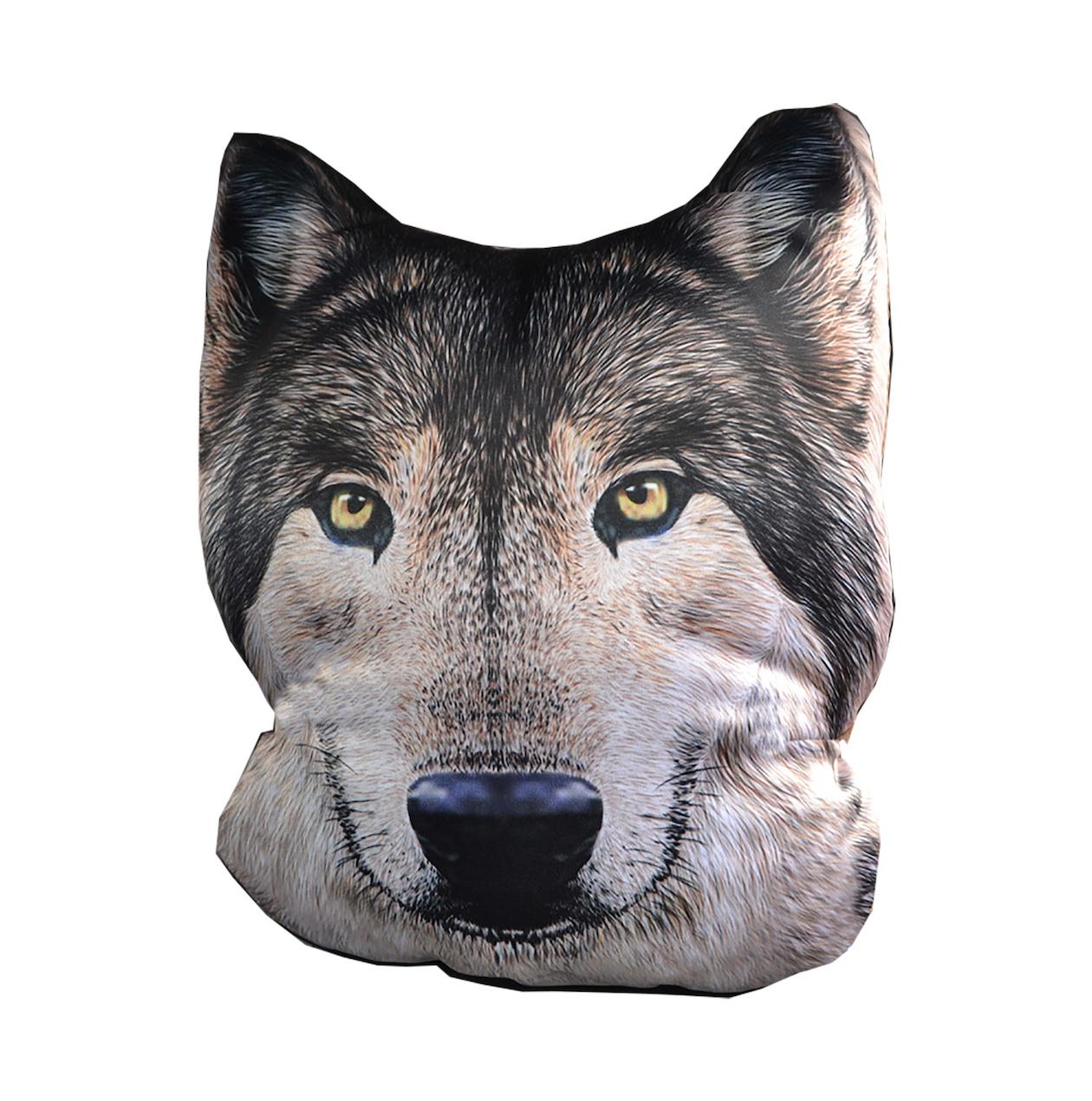 Подушка на сиденье GiftnHome сиденье, Auto-FACE Wolf(g)
