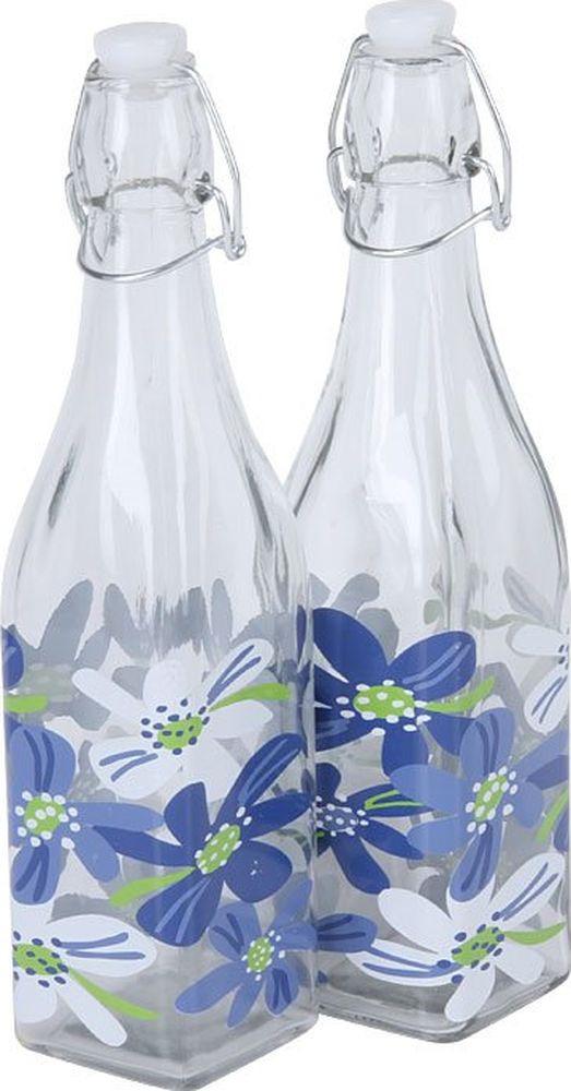 Бутылка для масла Rosenberg RGL-225010, прозрачный, 1 л, 2 шт