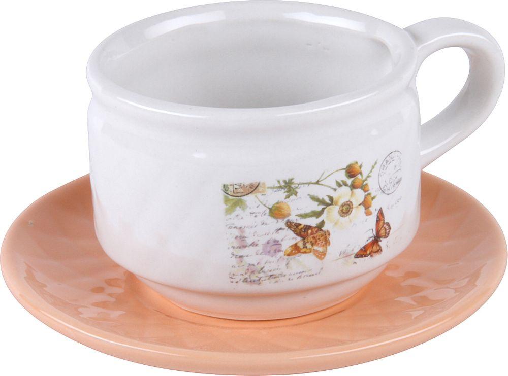 Пара чайная Rosenberg RCE-255001-1, 77.858@26476, розовый