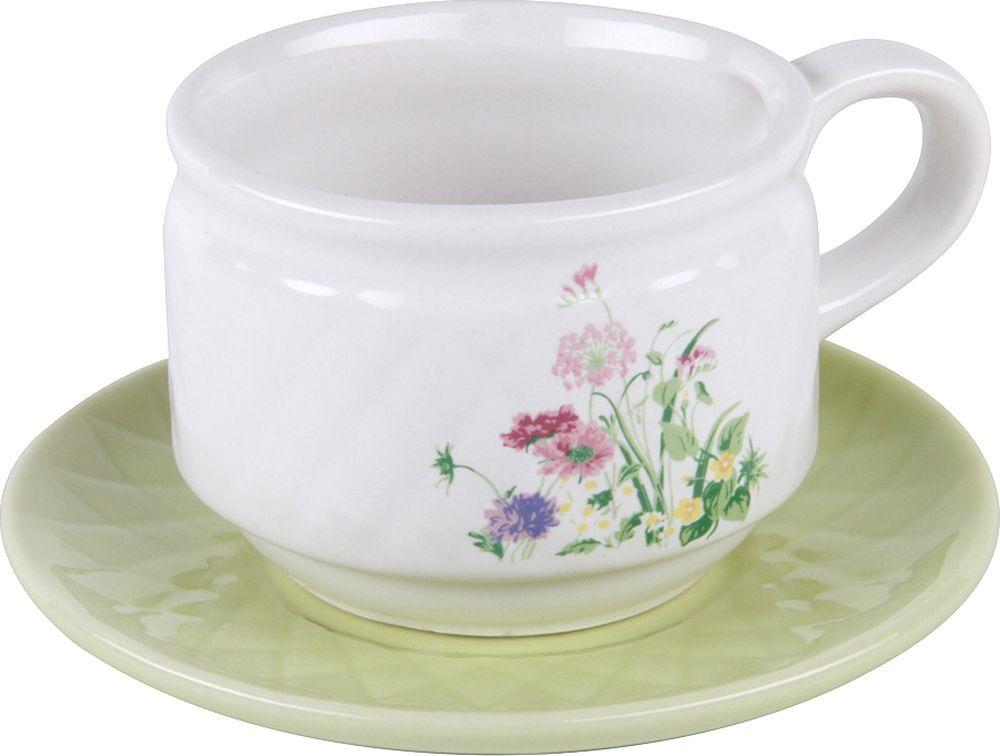 Пара чайная Rosenberg RCE-255001-4, 77.858@26479, зеленый