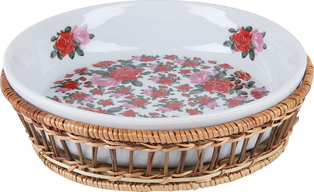 Блюдо Rosenberg RCE-035005-RR, 77.858@26813, белый, круглое