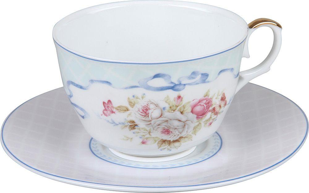 Пара чайная Rosenberg R-255008, 77.858@27671, белый rosenberg r 519