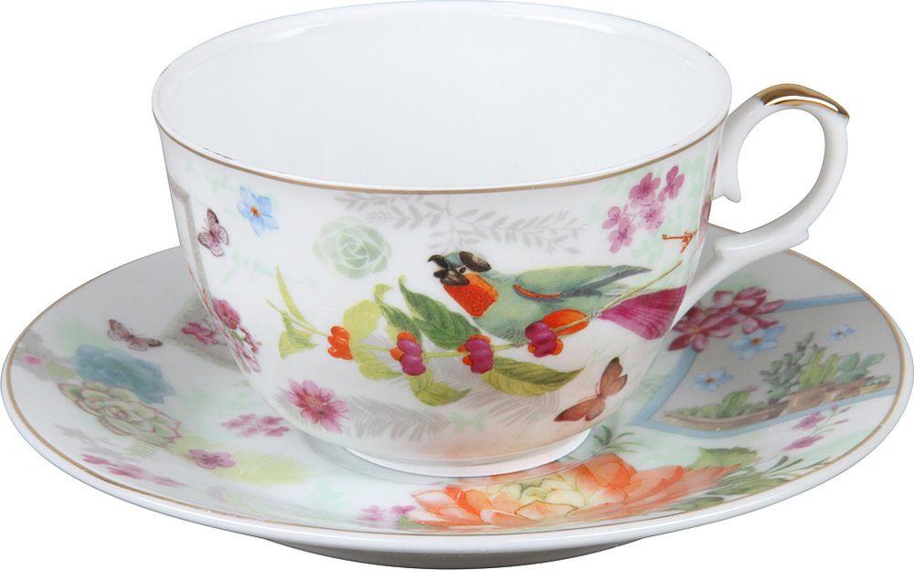 Пара чайная Rosenberg R-255009, 77.858@27672, белый rosenberg r 519