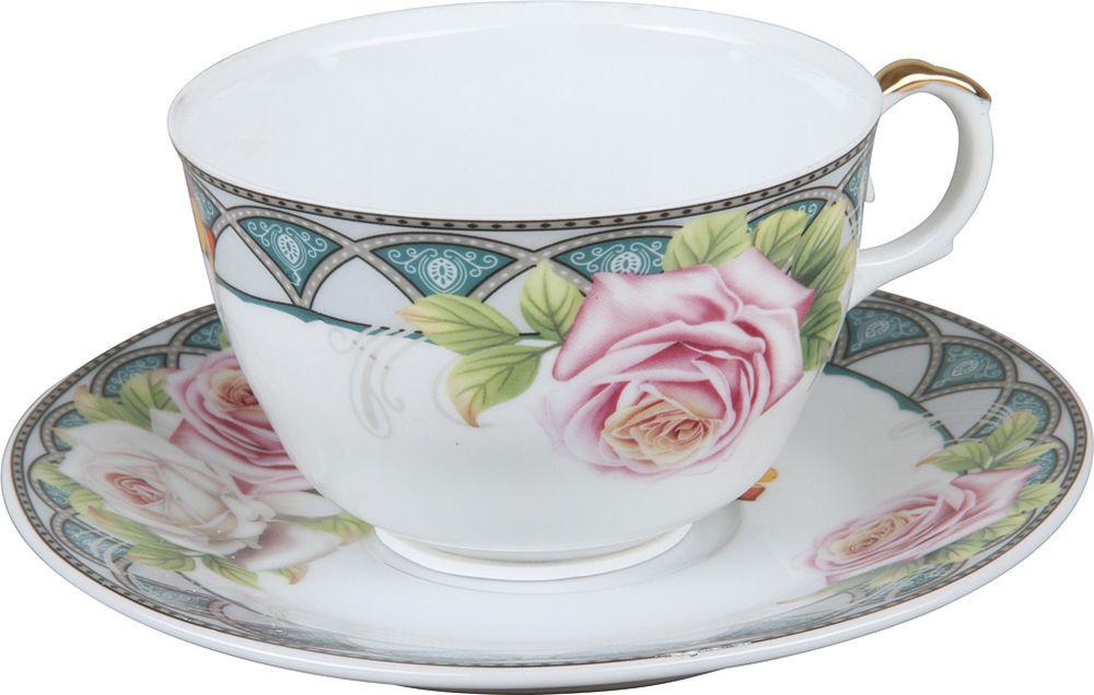 Пара чайная Rosenberg R-255014, 77.858@27677, белый rosenberg r 519
