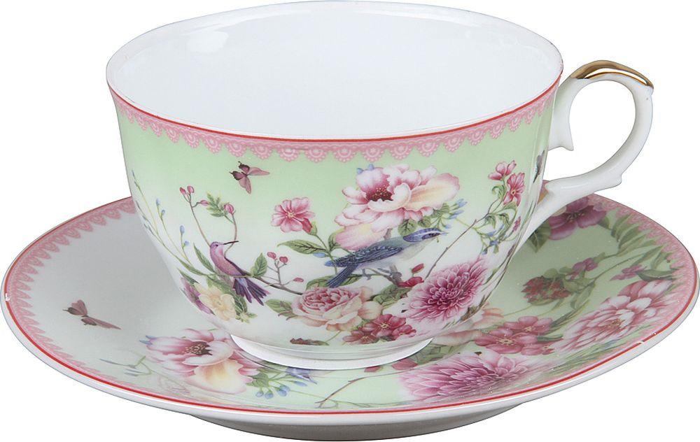 Пара чайная Rosenberg R-255015, 77.858@27678, белый rosenberg r 519