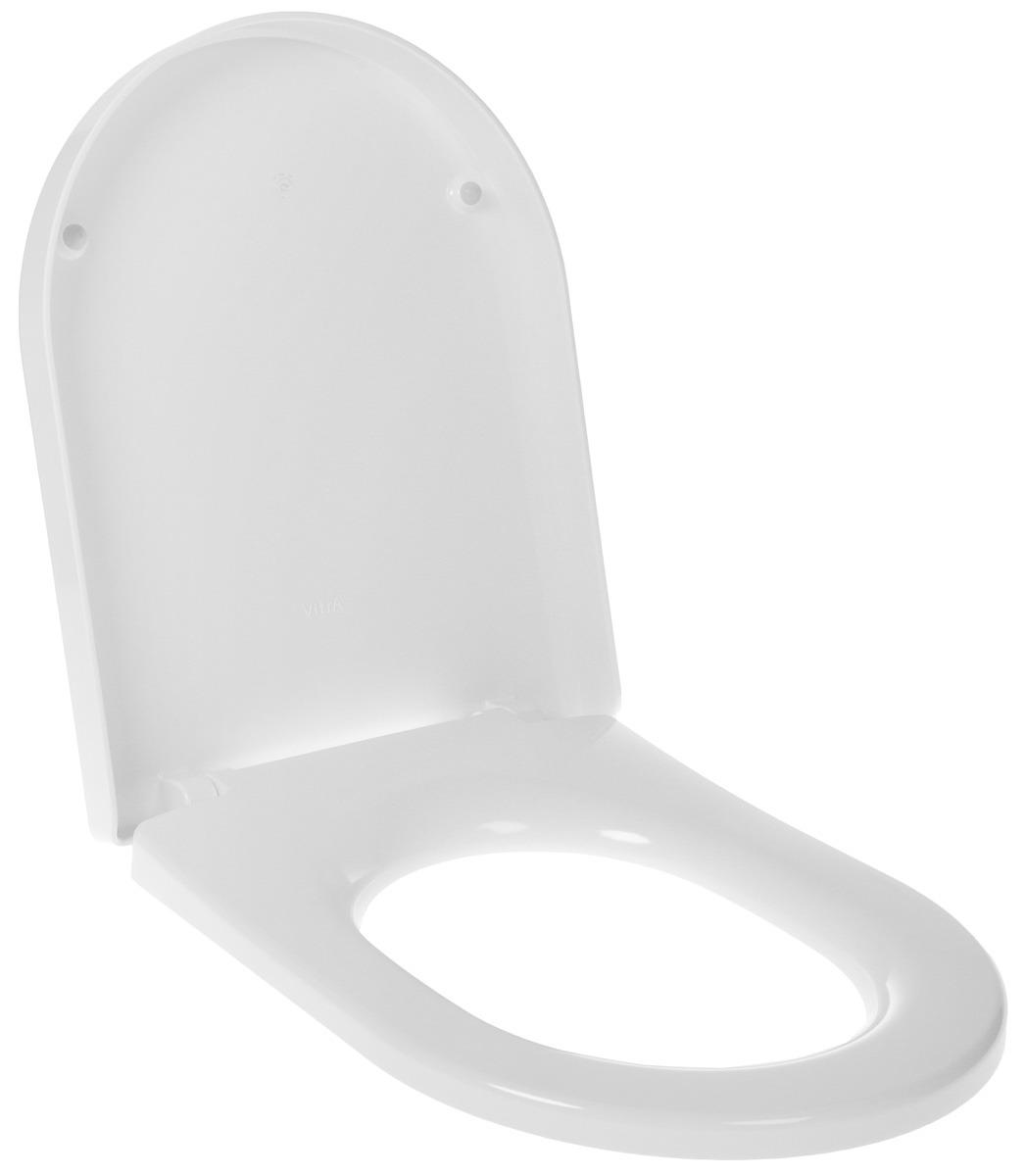 Сиденье для унитаза Vitra, универсальное, микролифт (прямое), 801-003-009, белый унитаз чаша vitra s 20 для инвалидов 5293b003 0075