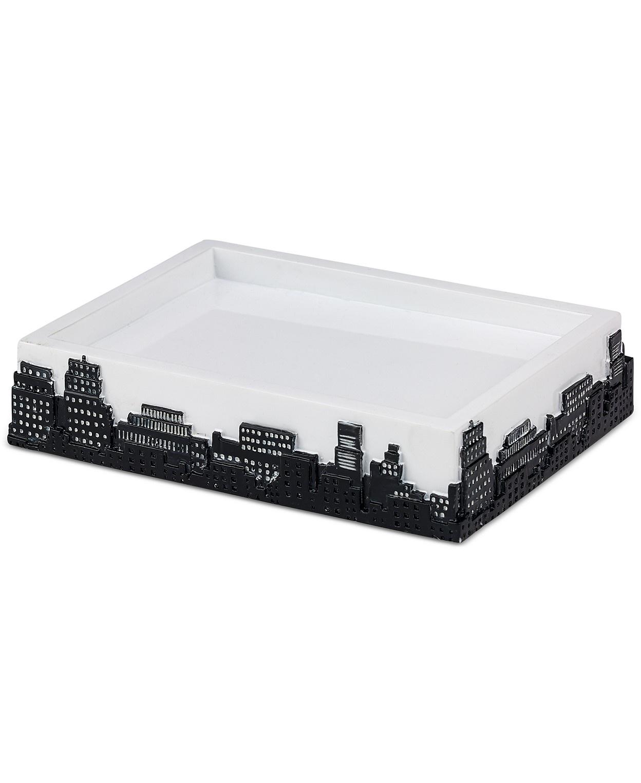 лучшая цена Мыльница Avanti Chloe, 13824C, белый, черный