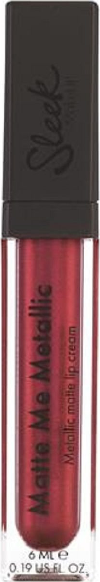 Блеск для губ Sleek MakeUP Matte Me Metallic Into the night Anodized Ruby 1167, 28 г