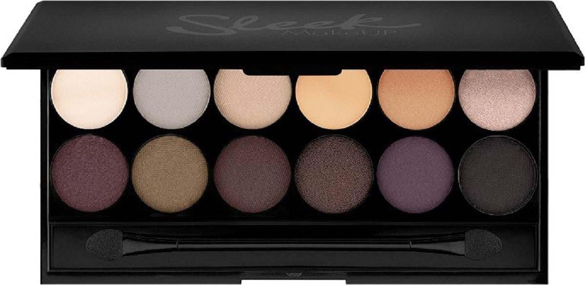 Тени для век в палетке Sleek MakeUP Eyeshadow Palette I-Divine (12 тонов) Au Naturel 601, 111 г цена