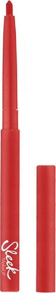 Автоматический карандаш для губ Sleek MakeUP Twist Up Lip pencil 996 Sugared Apple, красный, 19 г цены онлайн