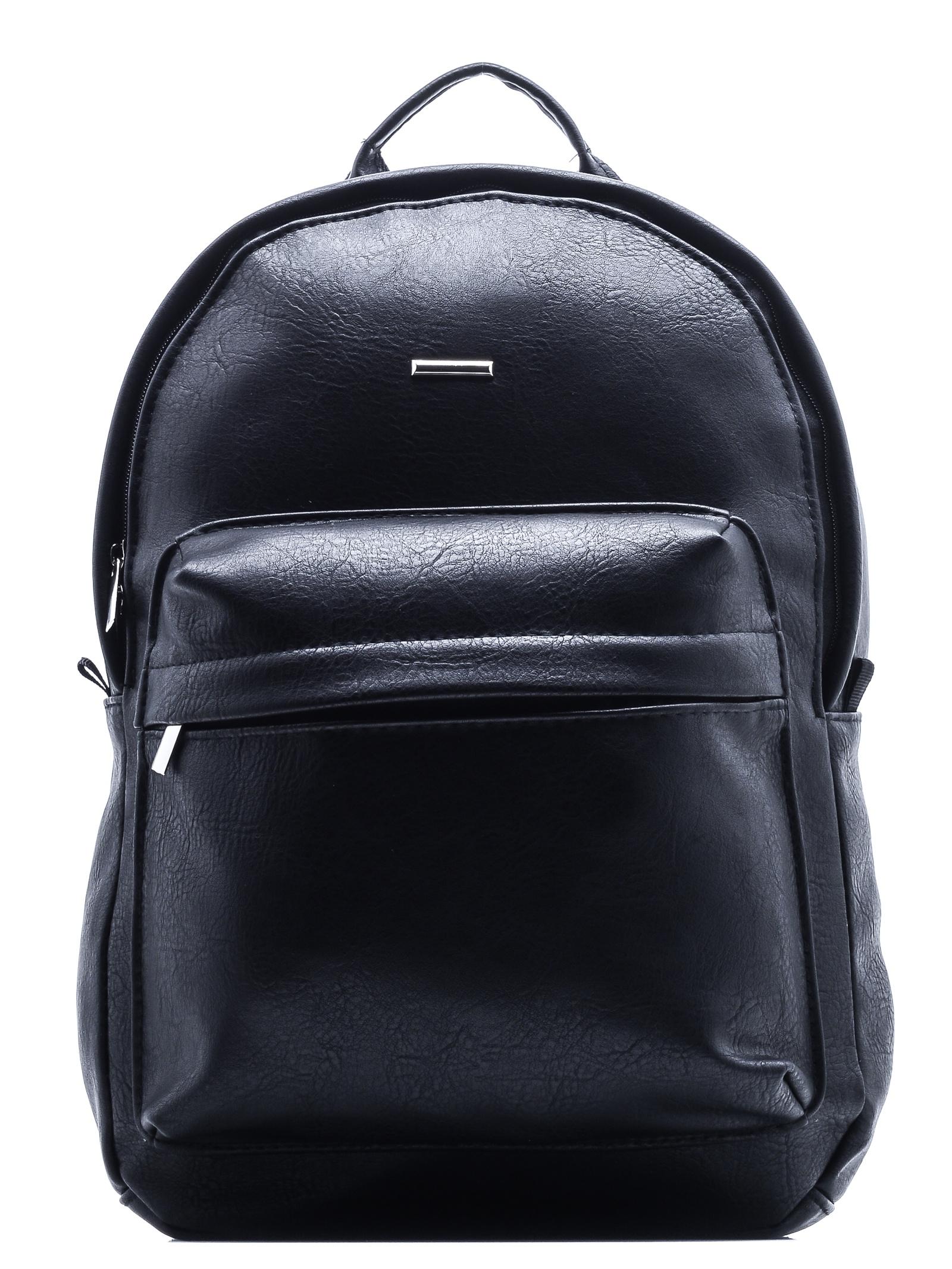 Рюкзак AST Рюкзак кожаный, черный, черный