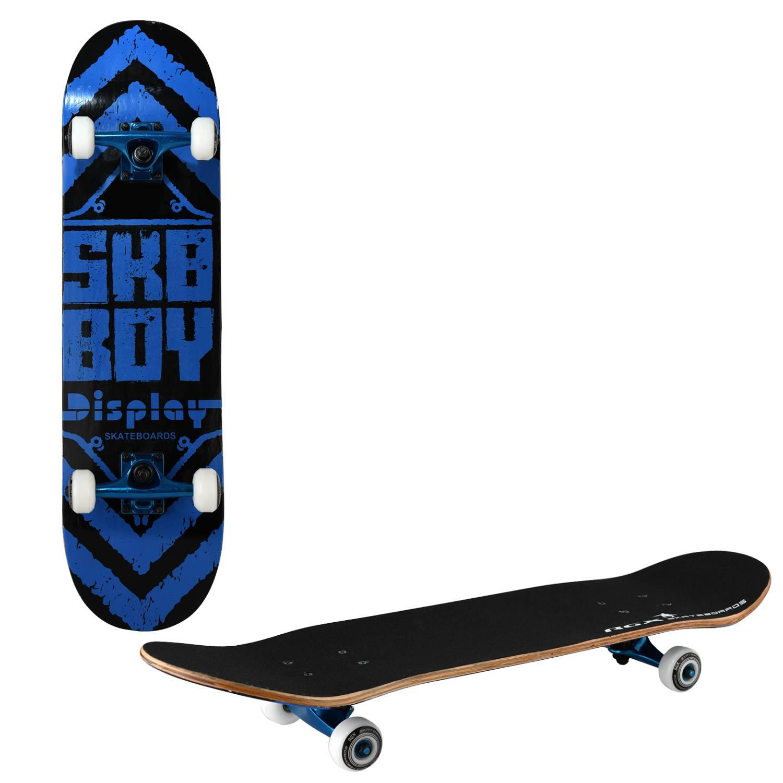 Скейтборд RGX TG 600, TG 600, синий, черный скейтборд 8 колес