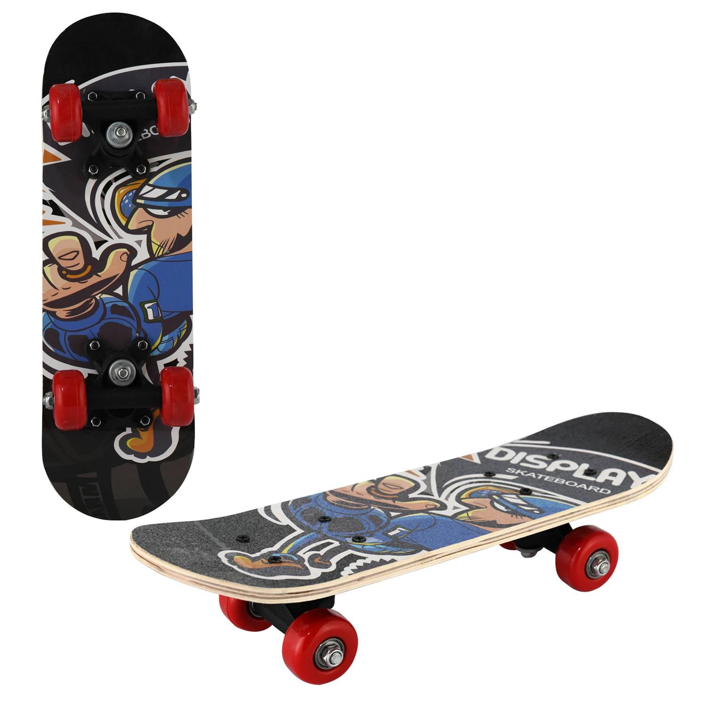 Скейтборд RGX SMALL 7, SMALL 7, черный скейтборд 8 колес